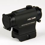 Holosun HS515C Paralow Circle Dot Sight Solar Flip Cap with FREE Wicked 308 AR-10 LPK